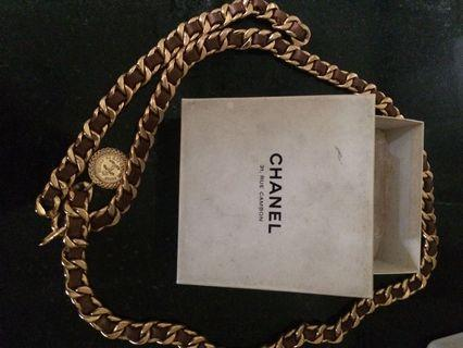 Chanel belt original