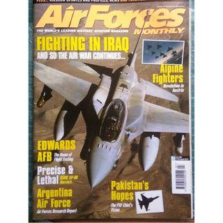 AirForces Monthly July 2004 (Military, Jets, Fighters, Airforce)