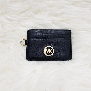 michael kors card leather wallet