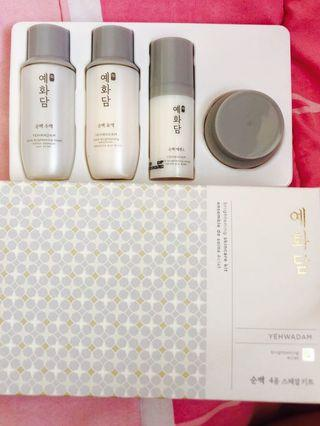 THE FACE SHOP Yehwadam Brightening Skincare Kit