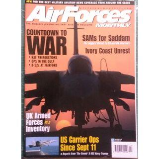 AirForces Monthly April 2001 (Military, Jets, Fighters, Airforce)