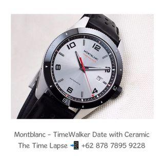 Montblanc - TimeWalker Date with Ceramic Bezel Automatic 41