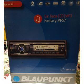 Blaupunkt Hamburg MP-57 Bluetooth MP3 car headunit