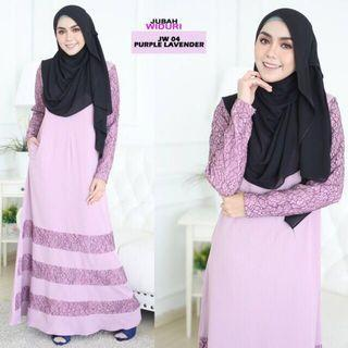 Jubah Dress Lavender
