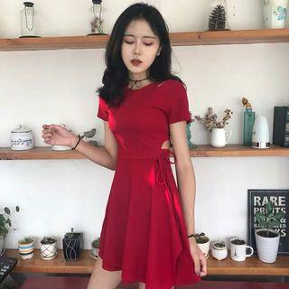 SALE | Cut Out Ribboned Dress