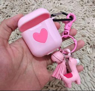 Airpods case pink love cute