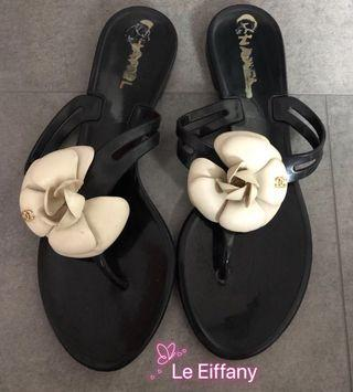 Authentic chanel slippers