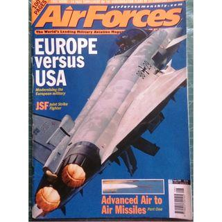 AirForces Monthly Aug 2000 (Military, Jets, Fighters, Airforce)