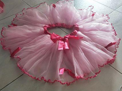 Pink Tutu Skirt for 3 yr old