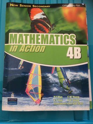 Mathematics in Action 4B
