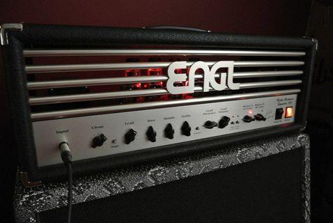 Engl E650 Ritchie Blackmore Signature 100W Head --- High-gain Boutique Tube Amp --- (Marshall Mesa Boogie Orange Peavey EVH Fender Vox Music Man electric guitar amplifier)