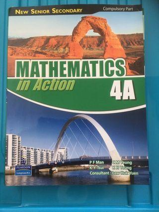Mathematics in Action 4A