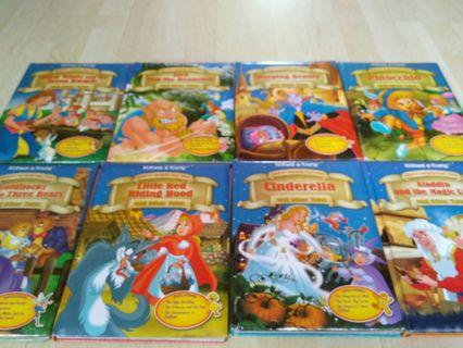 🚚 Full set kohwai & young children favourite fairy tales