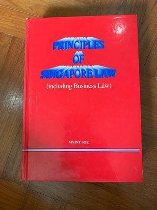 🚚 Principles of Singapore Law