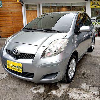 2013年Toyota Yaris 1.5G,一手車.認證車.全額貸.零頭款