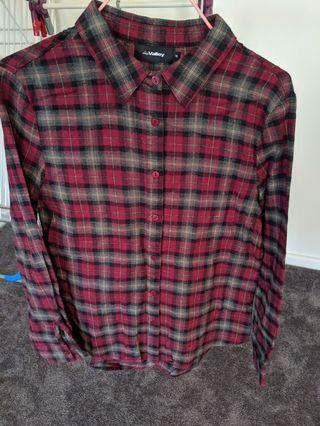 Flannel shirt size 10