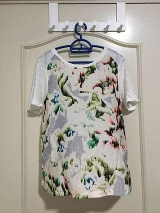 Zara Top Floral