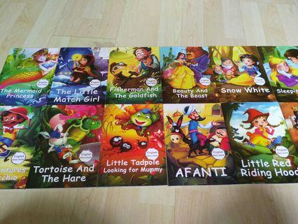 🚚 Full set fairy tales english story books
