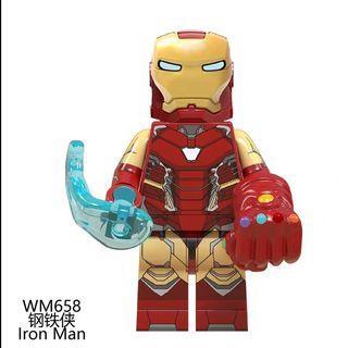 Lego Compatible Ironman Gauntlet