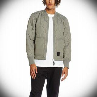 Cheap Monday Trouble Bomber Jacket M Green Kahki PAYED $150