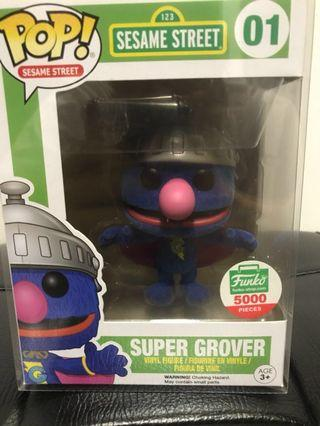 Funko Pop Super Grover Flocked