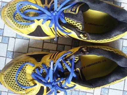 running shoe size 44.5