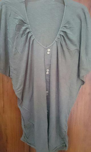 Cardigan blouse