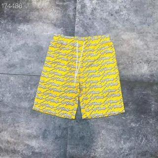 字母沙灘褲
