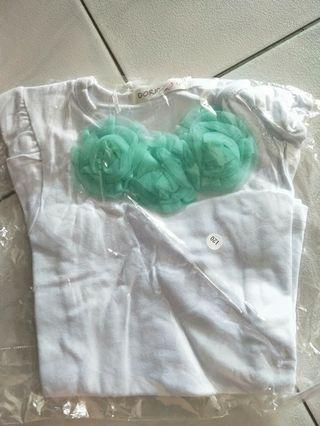 Brand New Tutu top in Turquoise