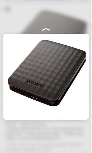 Samsung m3 hardisk 1TB
