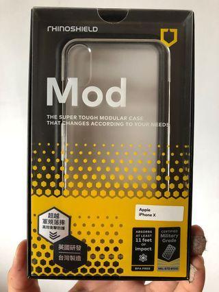 犀牛盾手機殼。iphone X