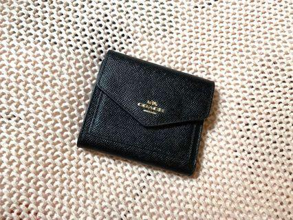 AUTHENTIC COACH Small Wallet - Black