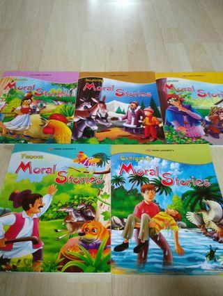 🚚 Full set young learners moral stories