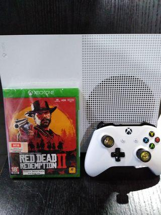 Red Dead Redemption 2 with Xbox one 1Tb