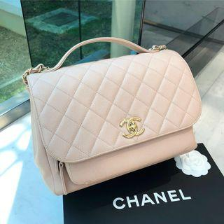 💛Good Deal!💛 Chanel Business Affinity Flap in Beige Caviar GHW