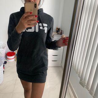Fila hoodie dress