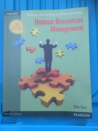 BAFS Human Resources Management Pearson Textbook
