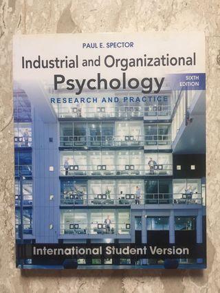 🚚 Organisational Psychology