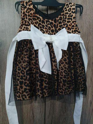 🚚 Leopard dress