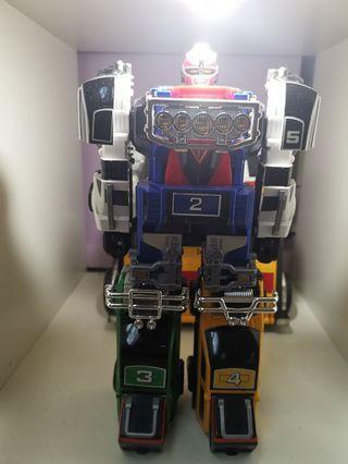 🚚 Power Rangers (Sentai) Turbo Series Megazords