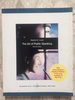 🚚 The Art of Public Speaking