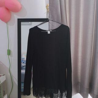 Black T-shirt H&M