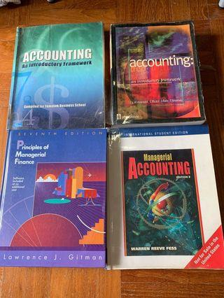 🚚 Accounting and Finance Textbooks
