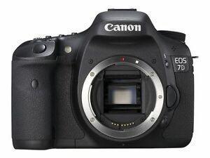 Canon EOS 7D 18 MP CMOS Digital SLR Camera Body Only