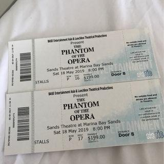 Phantom of the Opera PREMIUM SEATS