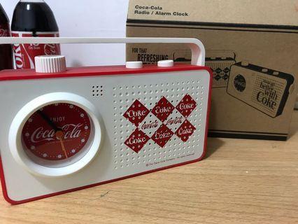 可樂 x 精工seiko 鬧鐘收音機
