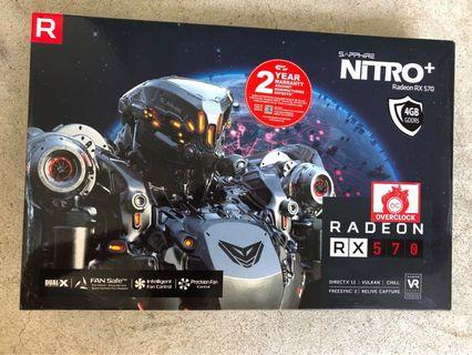 🚚 AMD RX570 Sapphire card for gamers