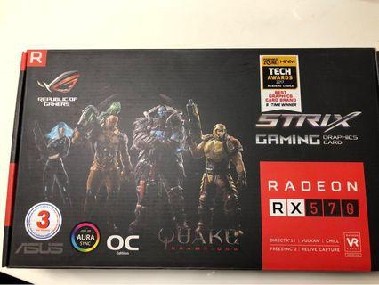AMD RX570 Asus Card with warranty