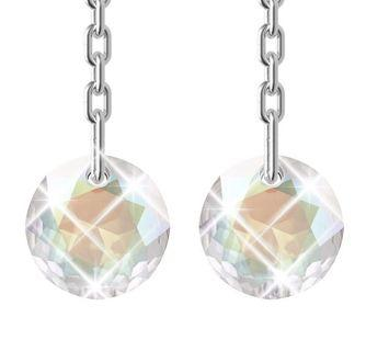 [SALE 70% OFF] Classic AB Crystal Dangling Earring Embellished With Crystals From Swarovski #MRTJurongEast #MRTRaffles