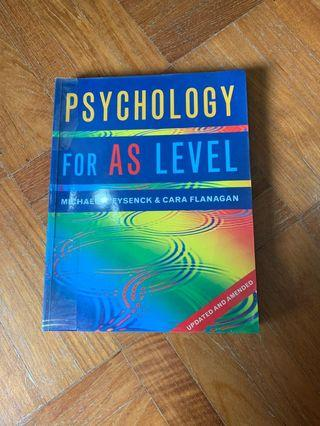 🚚 Psychology for AS Level